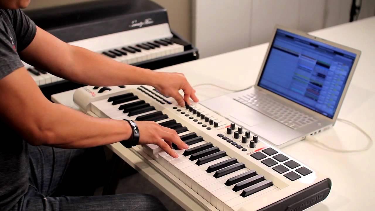 uy rằng những bảng điều khiển MIDI thường có rất nhiều kích cỡ khác nhau phù hợp